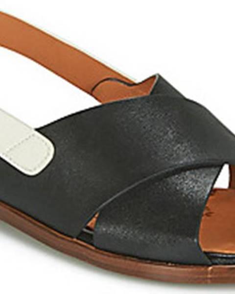 Černé sandály Chie Mihara