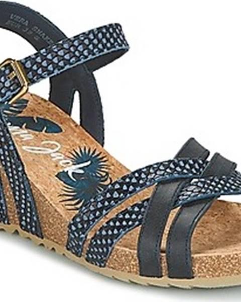 Modré sandály Panama Jack