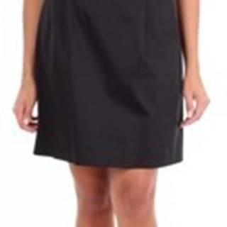 Moschino Krátké šaty A04371123 Černá