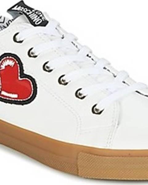 Bílé tenisky Love Moschino
