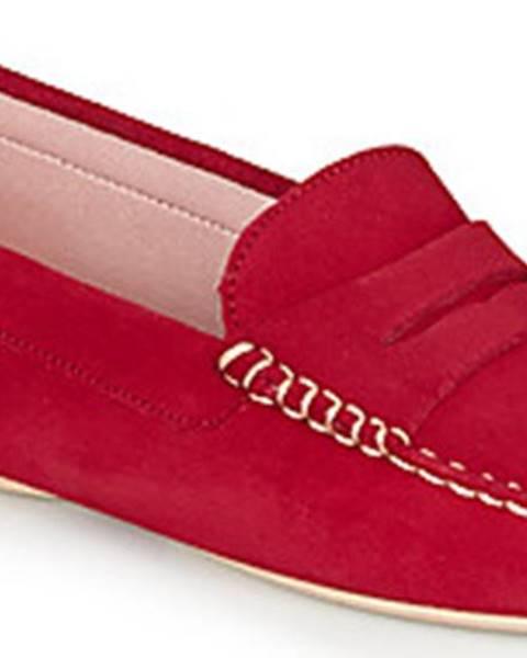 Červené mokasíny Pretty Ballerinas