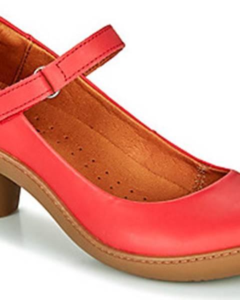 Červené boty ART