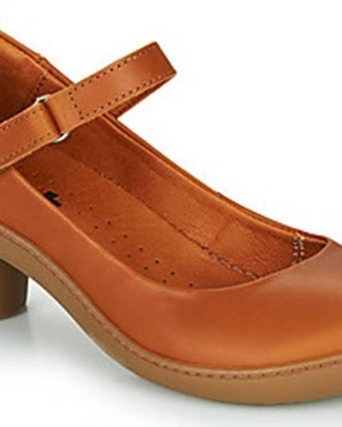 Hnědé boty ART