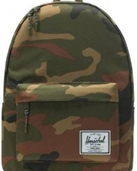 Zelený batoh Herschel