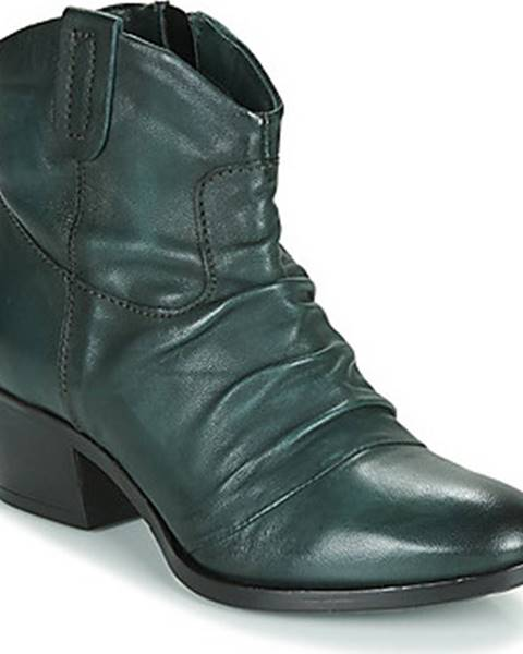 Zelené boty Mjus
