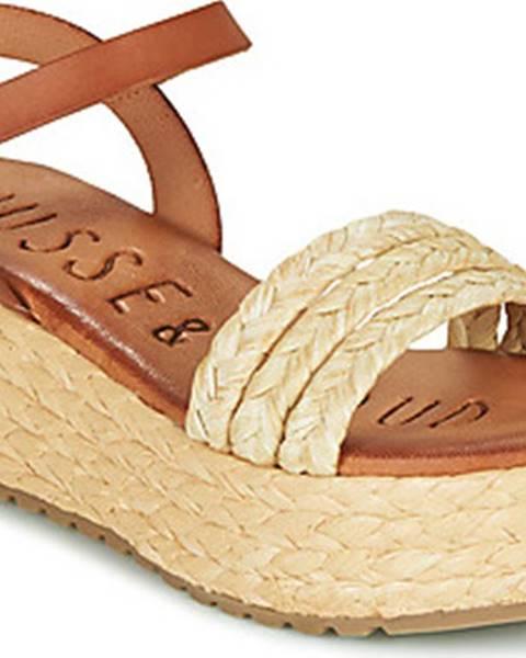 Béžové sandály Musse Cloud