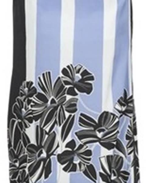 Modré šaty Sisley