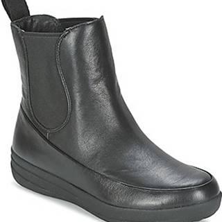 FitFlop Kotníkové boty FF-LUX CHELSEA BOOT Černá