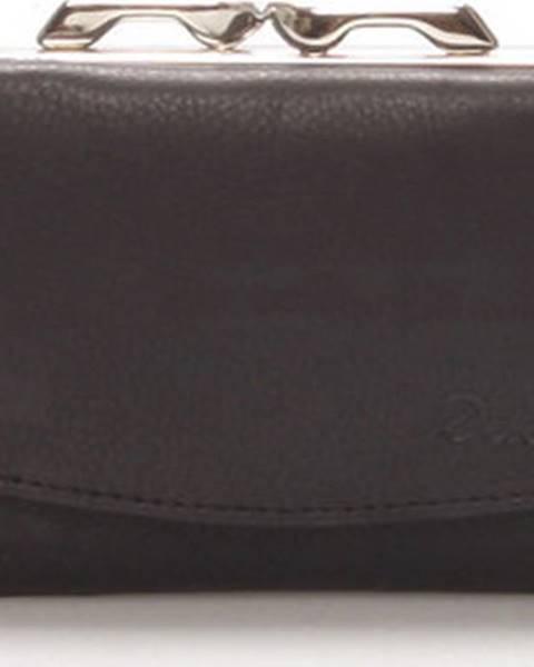 Černá peněženka Delami