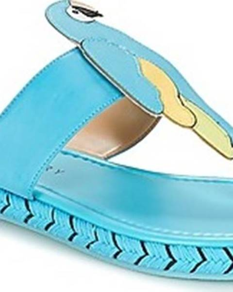 Modré pantofle Katy Perry