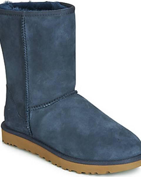 Modré boty ugg