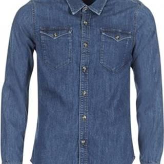 Casual Attitude Košile s dlouhymi rukáv IHERZI Modrá