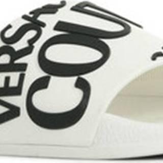 Versace pantofle Linea Fondo Slide Bílá