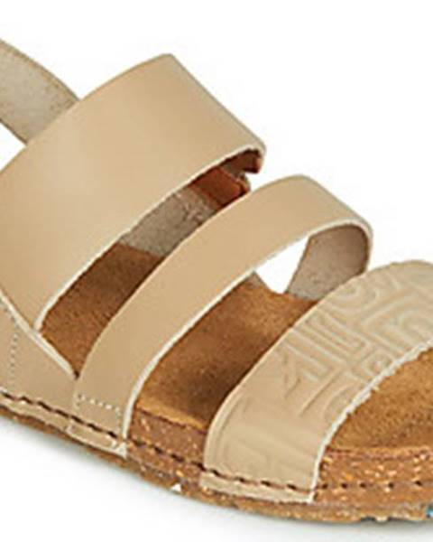 Béžové sandály ART