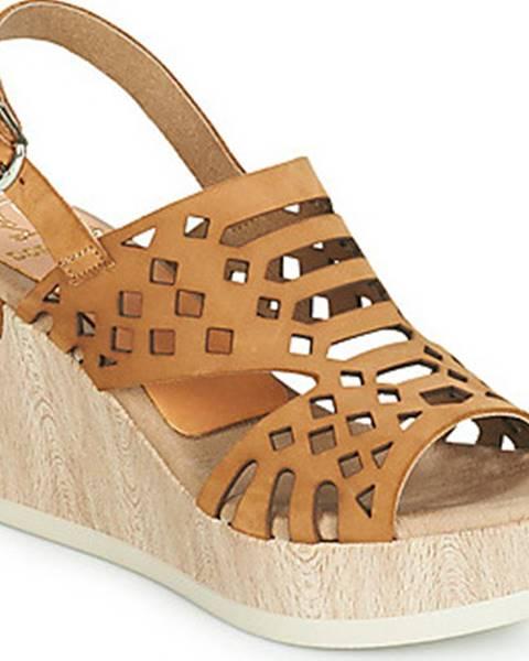 Hnědé sandály Dorking