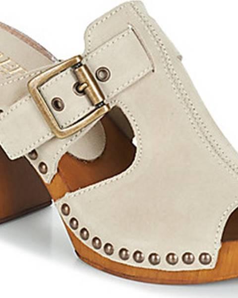Béžové pantofle Replay