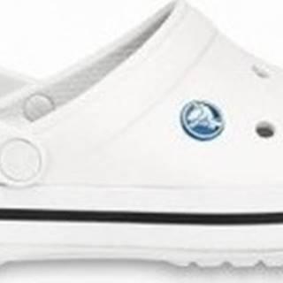 Crocs Pantofle Crocband Bílá