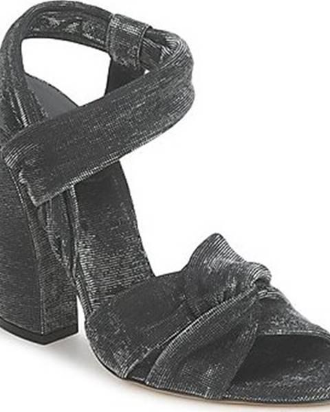 Černé sandály Casadei
