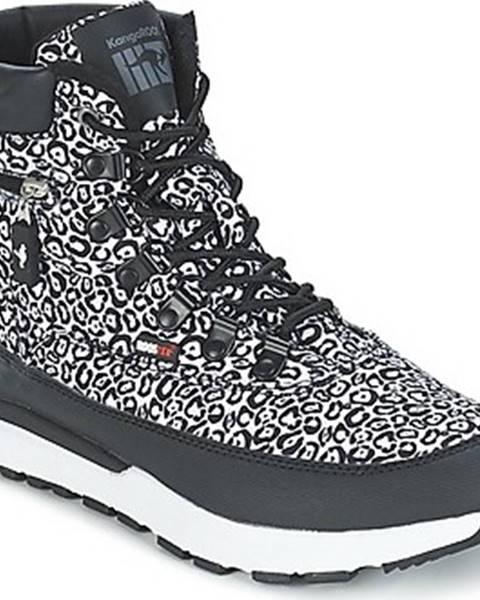 Černé boty KangaROOS