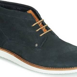Base London Kotníkové boty BUSTER Modrá