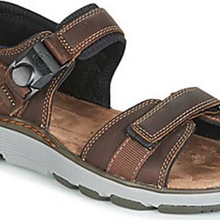 Clarks Sportovní sandály UN TREK PART Hnědá