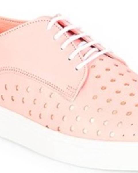 Růžové tenisky André