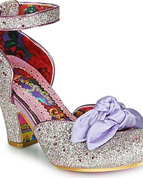 Růžové boty Irregular Choice