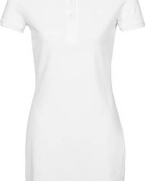 Bílé šaty lacoste