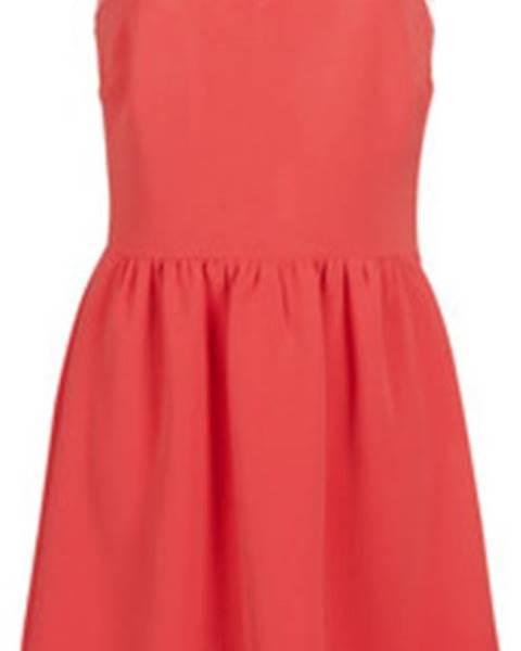 Růžové šaty Naf Naf