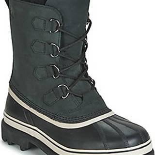 Sorel Zimní boty CARIBOU Černá