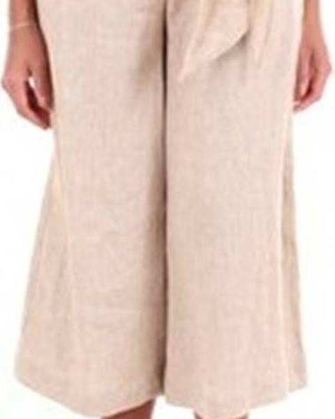 Béžové kalhoty Blanca Luz