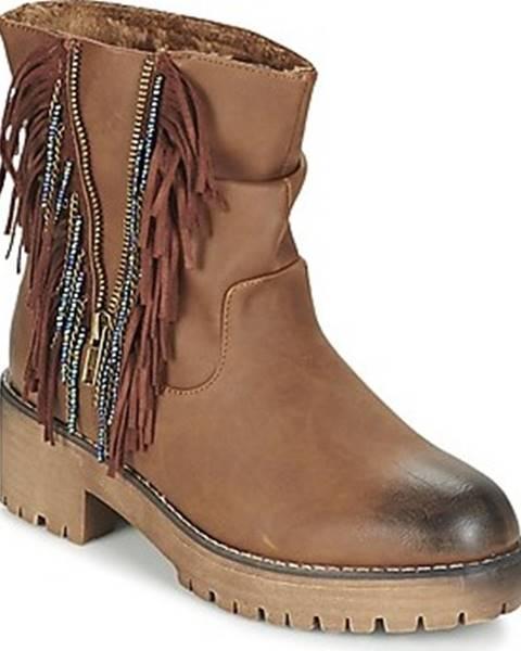 Hnědé boty Coolway