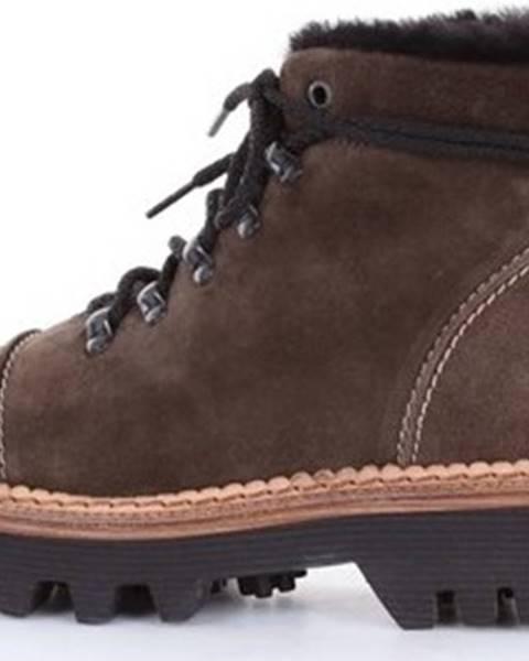 Hnědé boty Montelliana