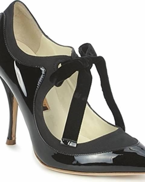 Černé boty Rupert Sanderson