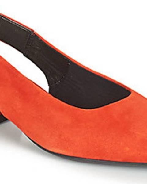 Červené sandály vagabond