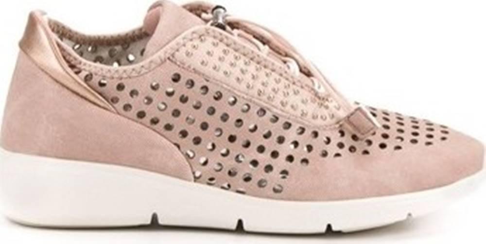 ACLYS Aclys Tenisky Jedinečné růžové tenisky dámské bez podpatku ruznobarevne