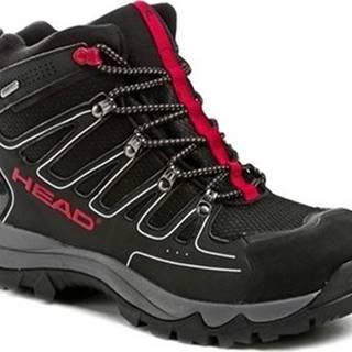 Head Pohorky HZ-109-36-06 černo červené pánské trekingové boty Černá