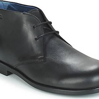 Birkenstock Kotníkové boty FLEN Černá