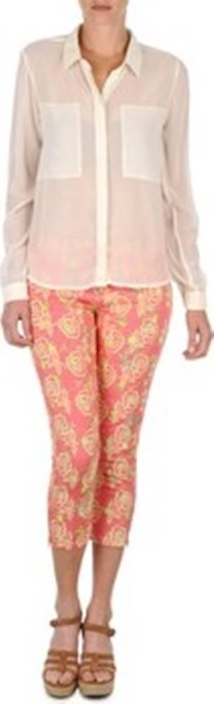Manoush Manoush Zkrácené kalhoty 7/8 a ¾ PANTALON GIPSY JEANS Růžová
