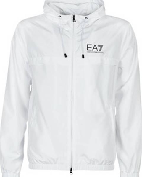 Bílá bunda Emporio Armani EA7