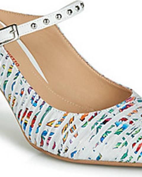 Bílé sandály Perlato