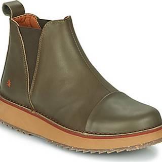 Art Kotníkové boty ORLY Khaki