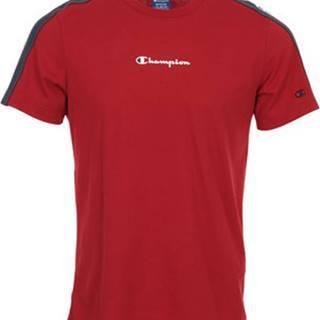 Champion Trička s krátkým rukávem Crewneck T-Shirt Červená