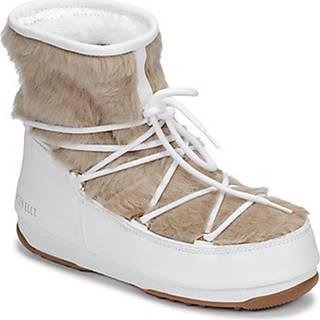Moon Boot Zimní boty MOON BOOT MONACO LOW FUR WP Bílá