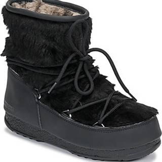 Moon Boot Zimní boty MOON BOOT MONACO LOW FUR WP Černá