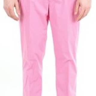 Pt Torino Oblekové kalhoty BP23COHL22ZS0CL3 Růžová