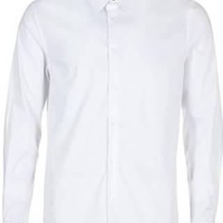 Sisley Košile s dlouhymi rukáv FENIMO Bílá