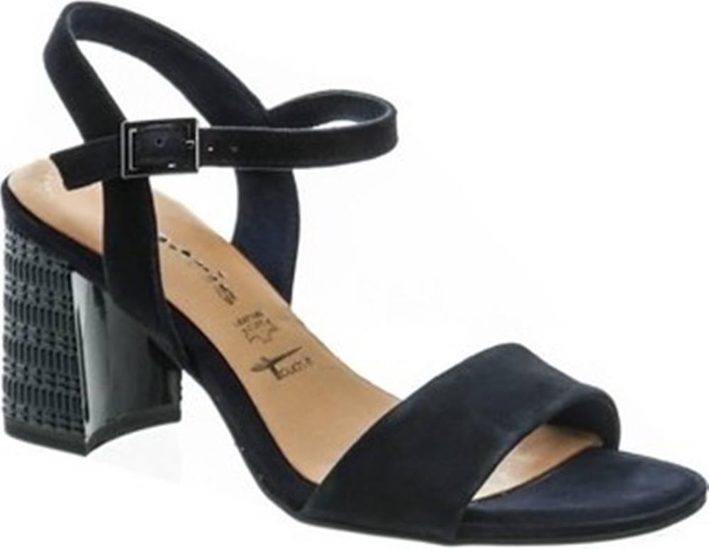 tamaris Tamaris Sandály 1-28359-22 navy dámská letní obuv Modrá