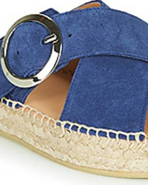 Modré pantofle Betty London