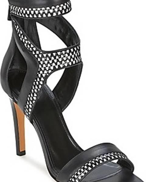 Černé sandály Boss Business